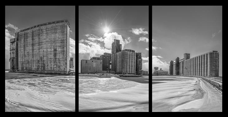 Skyline Triptych-2
